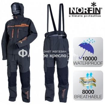 Костюм демисезонный Norfin Pro DRY GRAY 01 р.S