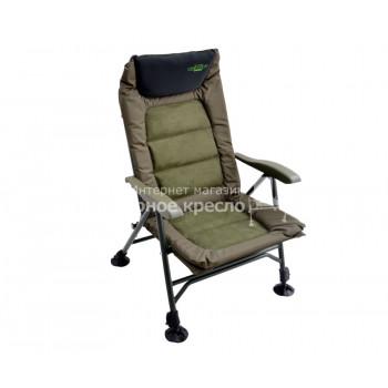 Кресло Carp Pro кароповое складное с подлокотниками