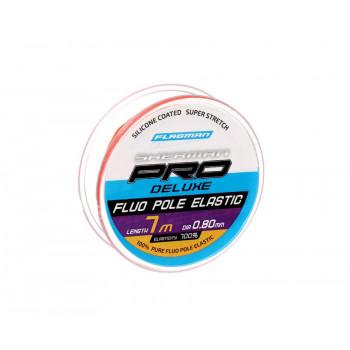 FLAGMAN Амортизатор для штекера Deluxe Fluo Pole Elastic 7м d0,8мм red