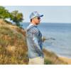 VEDUTA Худи Air серия UPF50+ Reptile Skin Blue S мужская