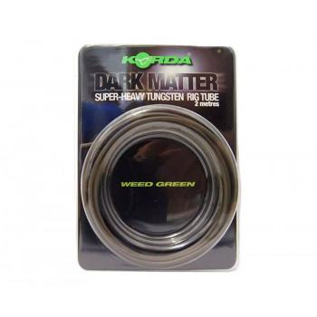 KORDA Трубка Dark Matter Tungsten Tubing Weed Green 2м
