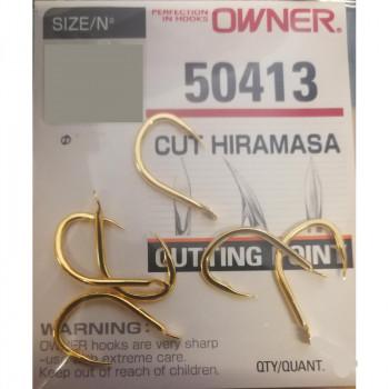 OWNER Крючок Cut Hiramasa gold №4/0 4шт