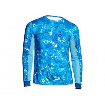 VEDUTA Джерси Air серия UPF50+ Reptile Skin Blue Water 4XL мужская