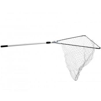 FLAGMAN Подсак складной теле сетка струна 60х60см метал крепл ручка 2,10м
