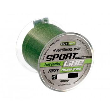 CARP PRO Леска Sport Line Flecked Green 300м 0,286мм