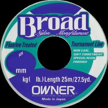 OWNER Леска Broad 25м 0,30мм 8,4кг