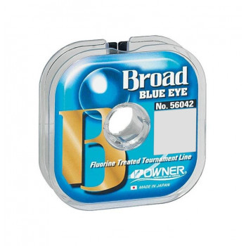 OWNER Леска Broad Blue Eye 100м 0,10мм 1кг