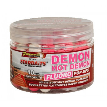 Бойлы плавающие Starbaits Performance Concept HOT DEMON Fluo Pop-ups 10мм 0,06кг