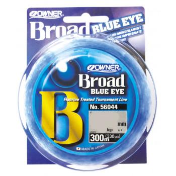 OWNER Леска Broad Blue Eye 300м 0,16мм 2,7кг