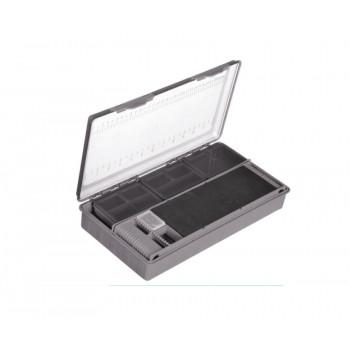 FLAGMAN Коробка фидерная 2 поводочницы+коробочки для акссес.340x180x60мм