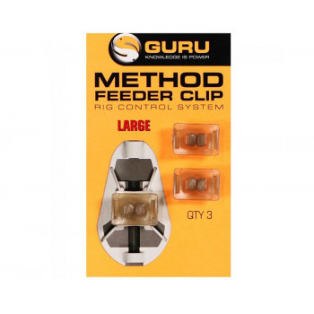 GURU Клипса для методной кормушки Method Clip L