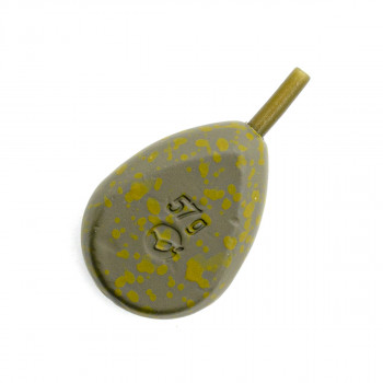 KORDA Грузило Flatliner Pear Inline 2,0oz 56г