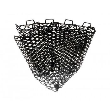FLAGMAN Сетка для форелевого подсака черная силиконовая 50х50см