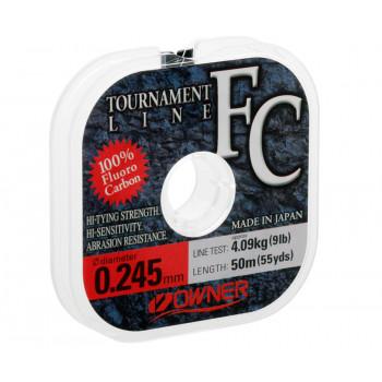 OWNER Леска Tournament FC 50м 0,245мм 4,1кг