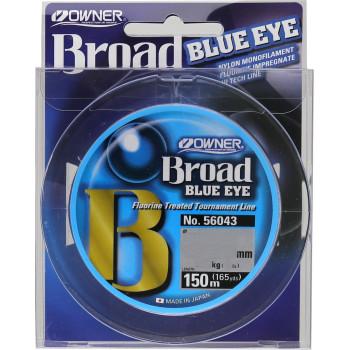 OWNER Леска Broad Blue Eye 150м 0,16мм 2,7кг