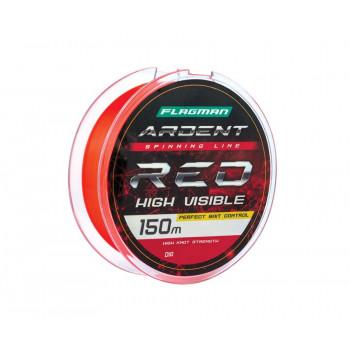 FLAGMAN Леска Ardent Red 150м 0,25мм 8,4кг/18,5lb