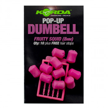 KORDA Имитационная приманка Dumbell Pop-Up Fruity Squid 8мм