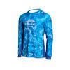 VEDUTA Джерси дышащая UPF50+ Reptile Skin Blue Water L женская