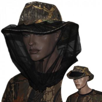 Шляпа-Ковбойка с антимоскитной сеткой Лес р.56-58