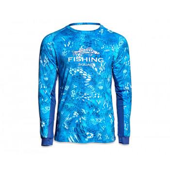 VEDUTA Джерси дышащая UPF50+ Reptile Skin Blue Water 2XL мужская