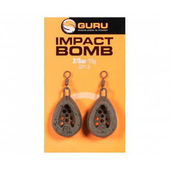 GURU Груз кормушка Impact Bomb 19г