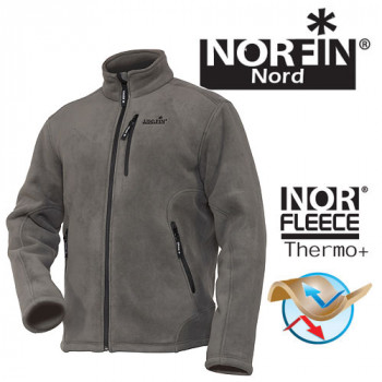 Джемпер флисовый Norfin NORTH GRAY р.L