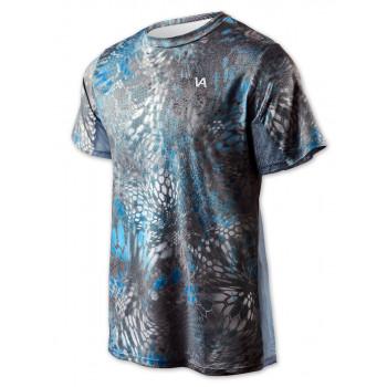 VEDUTA Футболка Air серия UPF50+ Reptile Skin Blue XS мужская