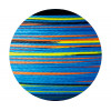 OWNER Шнур Kizuna X8 Broad PE multi color 10м 150м 0,13мм 6,7кг