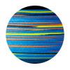 OWNER Шнур Kizuna X8 Broad PE multi color 10м 150м 0,15мм 8,2кг