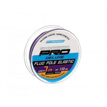 FLAGMAN Амортизатор для штекера Deluxe Fluo Pole Elastic 7м d1,1мм violet