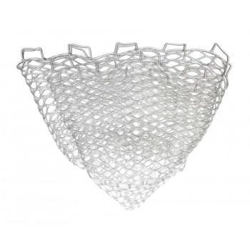 FLAGMAN Сетка для форелевого подсака прозрачная силиконовая 50х50см