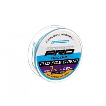 FLAGMAN Амортизатор для штекера Deluxe Fluo Pole Elastic 7м d0,9мм blue