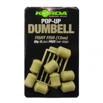 KORDA Имитационная приманка Dumbell Pop-Up Fishy Fish 12мм