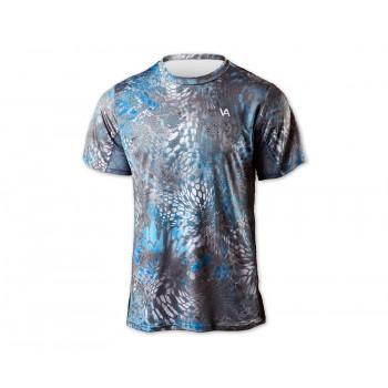 VEDUTA Футболка Air серия UPF50+ Reptile Skin Blue L мужская