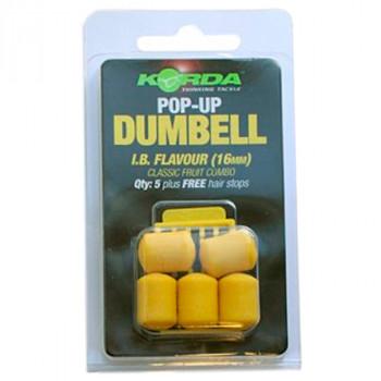 KORDA Имитационная приманка Dumbell Pop-Up IB 16мм