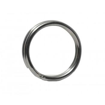 OWNER Кольцо заводное Split Ring Hyper Wide steel №6 8шт