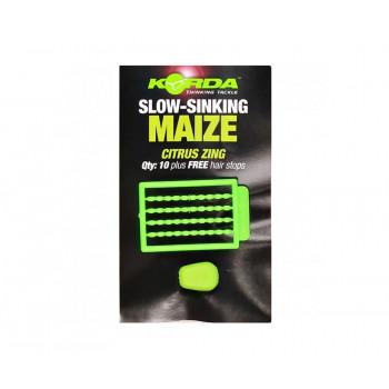 KORDA Имитационная приманка Maize Slow Sinking Green