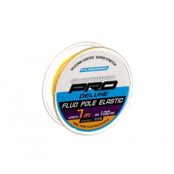 FLAGMAN Амортизатор для штекера Deluxe Fluo Pole Elastic 7м d1,0мм yellow