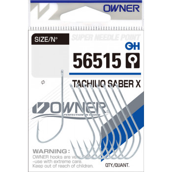 OWNER Крючок Tachiuo Saber X TIN №1/0 9шт