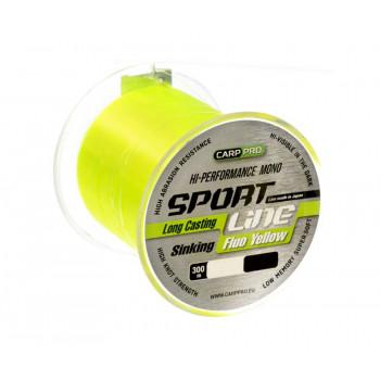 CARP PRO Леска Sport Line Fluo Yellow 300м 0,335мм