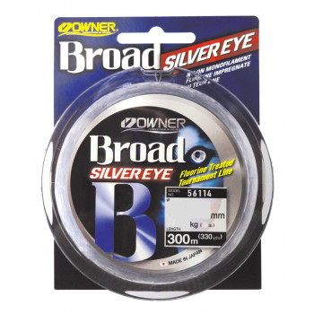OWNER Леска Broad Silver Eye 300м 0,14мм 2,2кг
