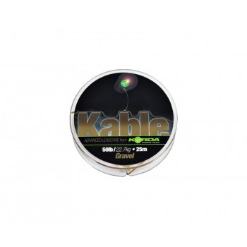 KORDA Лидкор Kable Leadcore Gravel 25м Gravel