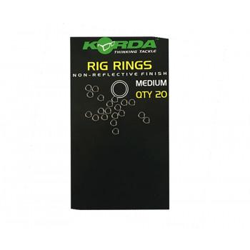 KORDA Кольцо стальное Rig Ring M