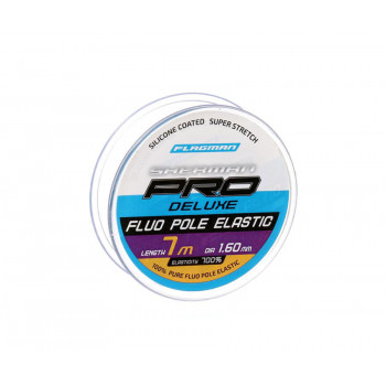 FLAGMAN Амортизатор для штекера Deluxe Fluo Pole Elastic 7м d1,6мм blue