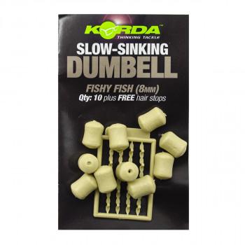 KORDA Имитационная приманка Dumbell Slow Sinking Fishy Fish 8мм