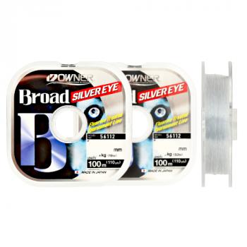 OWNER Леска Broad Silver Eye 100м 0,12мм 1,5кг