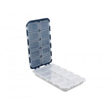 FLAGMAN Коробка для крючков 20 отделений двойная 170х97х40мм