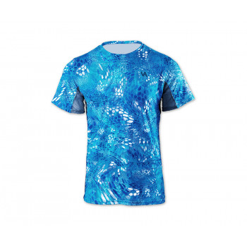 VEDUTA Футболка Air серия UPF50+ Reptile Skin Blue Water 3XL мужская