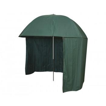 FLAGMAN Зонт рыболовный зеленый ПВХ с тентом d2,5м