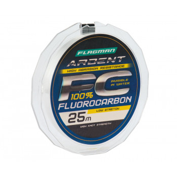 FLAGMAN Леска Ardent Fluorocarbon 25м 0,18мм 3,3кг/7,3lb
